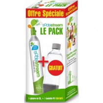 PACK RECHARGE + BOUTEILLES SODA STREAM Soda Club