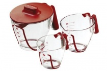 Set 3 verres mesureurs Zyliss